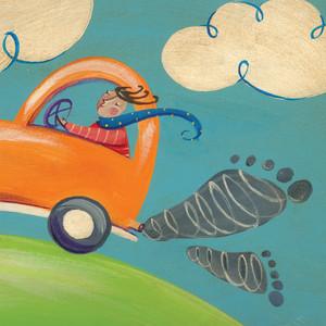 احسب كمية الكربون التي تصدرها سيارتك