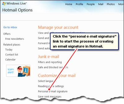 إجعل توقيعك في البريد الالكتروني يقلل من طباعة الأوراق