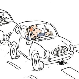 إسمح على الاقل لسيارة واحدة بالمرور في كل رحلة