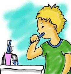 أغلق المياه بينما تقوم بتفريش أسنانك